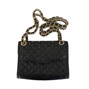 Rebecca minkoff mini quilted affair studded bag